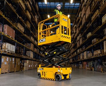 JCB Powered Access electric scissor lift