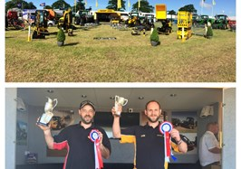 Double Win at Cumberland Show for Scot JCB