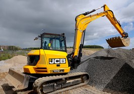 10 Tonne JCB Fits the Bill for Scott Plant Hire