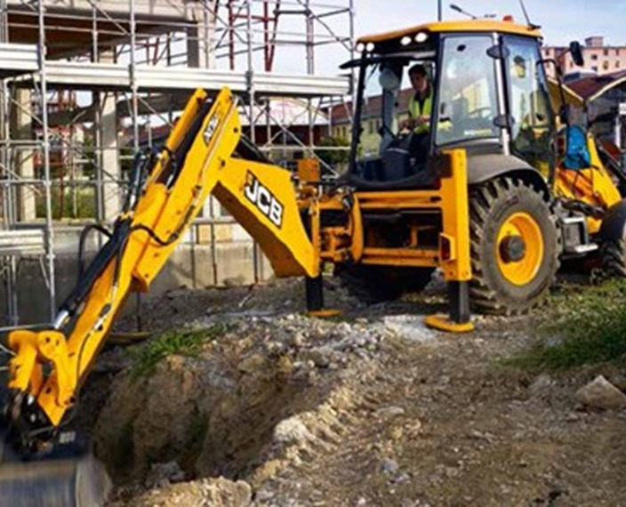 JCB Backhoe Loader - Scot JCB