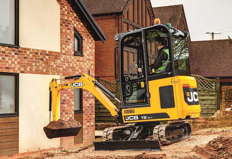 19C-1 Mini Excavator | Scot JCB