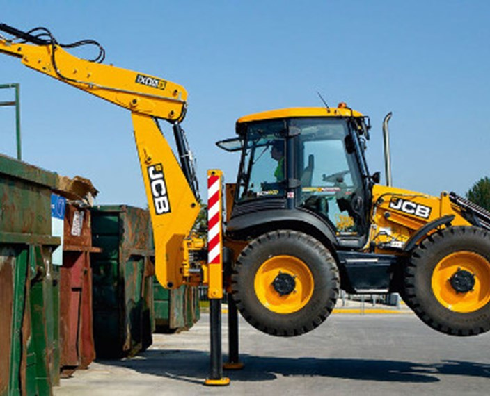 JCB 5CX Waste Master